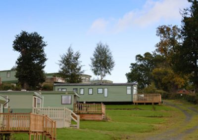 Static holiday caravan parks